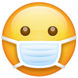 Emoji with mask